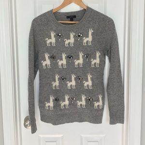 J. Crew wool sweater